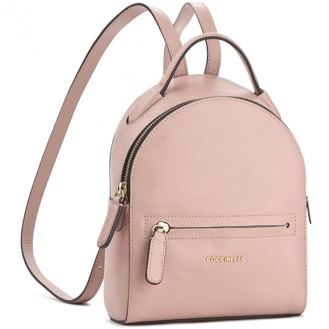 8bfb3fe66ad0d8 Backpack COCCINELLE - BF8 Clementine Soft E1 BF8 54 01 01 Pivoine 208 -  Backpacks - Handbags - efootwear.eu