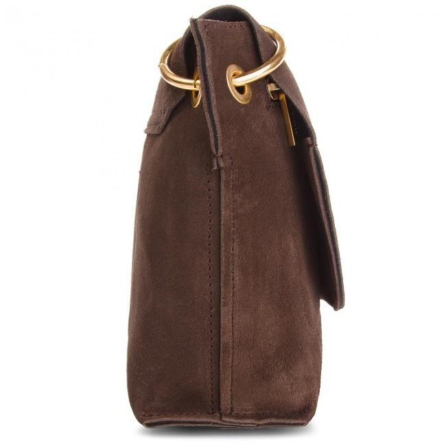 dfa6727e30ac Handbag COCCINELLE - CC1 Essentielle Suede E1 CC1 15 02 01 Ebano W00