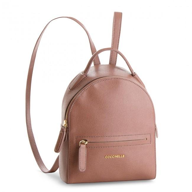 7f333edabd4800 Backpack COCCINELLE - CF5 Clementine E1 CF5 54 01 01 Dark Pivoine P03 -  Backpacks - Handbags - efootwear.eu