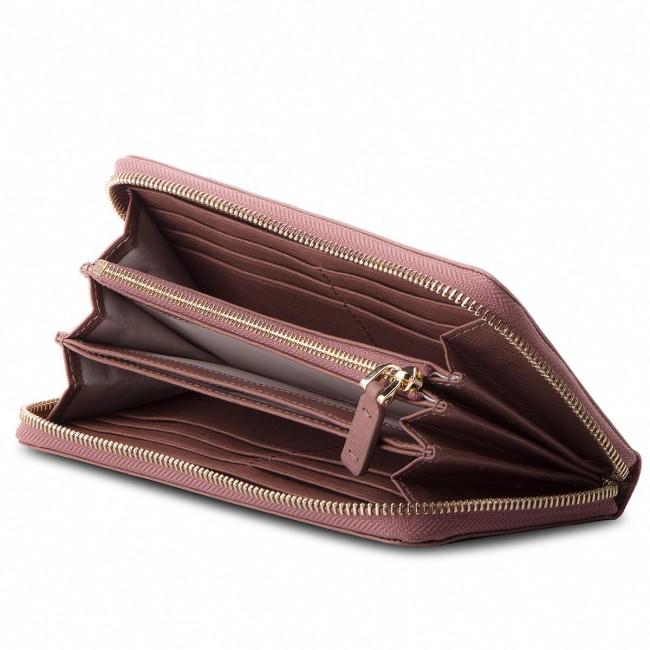 feine handwerkskunst Wert für Geld Abstand wählen Large Women's Wallet COCCINELLE - CW1 Metallic Saffiano E2 CW1 11 04 01  Dark Pivoine P03