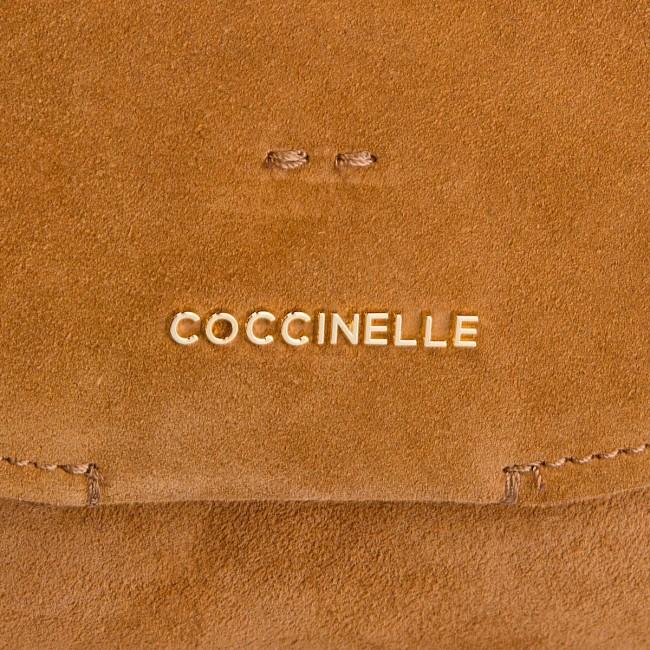 a40f9b51380b Handbag COCCINELLE - CC1 Essentielle Suede E1 CC1 15 02 01 Cuir W12