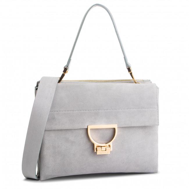 Handbag COCCINELLE - DD6 Arlettis Suede E1 DD6 12 06 01 Lunar N03