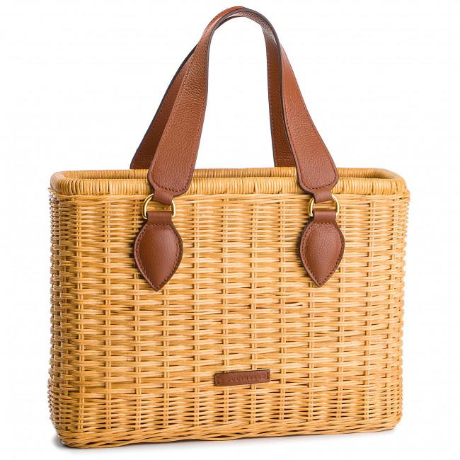 Handbag COCCINELLE - D70 Jade Rattan E1 D70 11 01 01 Natural/ Brule 528