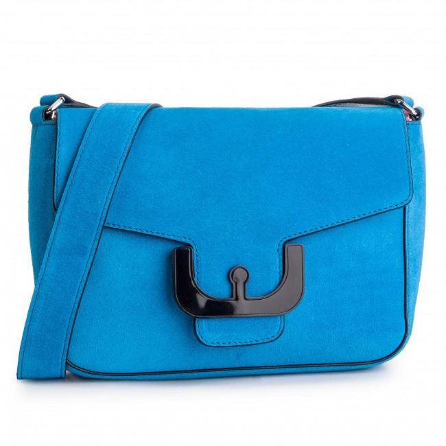 Handbag COCCINELLE - DJ6 Ambrine Cross Suede E1 DJ6 15 01 01 Signal Blue B08