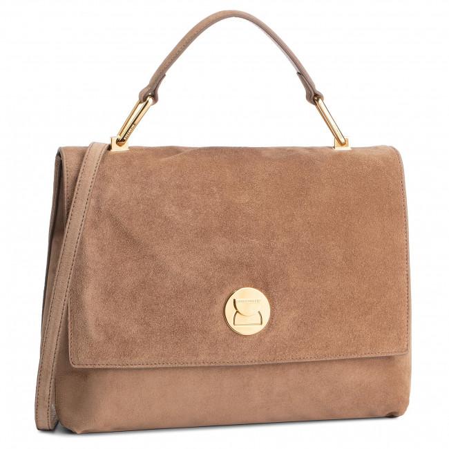 Handbag COCCINELLE - DD1 Liya Suede E1 DD1 18 01 01 Desert/Desert N02