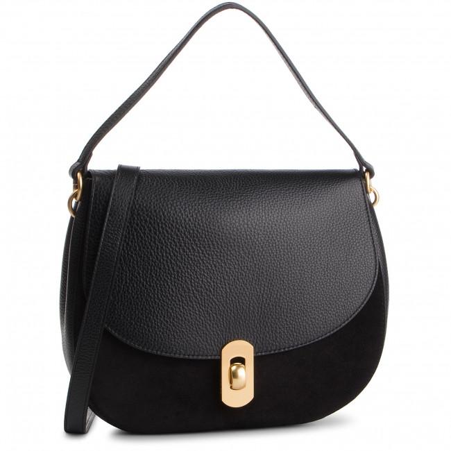 Handbag COCCINELLE - DG1 Zaniah Bimaterial E1 DG1 15 01 01 Noir/Noir 001