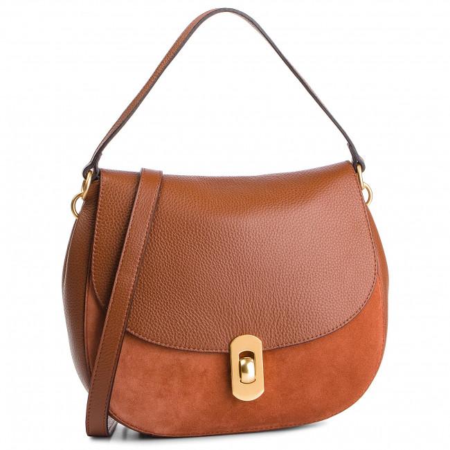 Handbag COCCINELLE - DG1 Zaniah Bimaterial E1 DG1 15 01 01 Brule/Brule W74