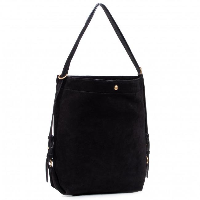Handbag COCCINELLE - GBA Cocci Suede E1 GBA 14 01 01 Noir 001