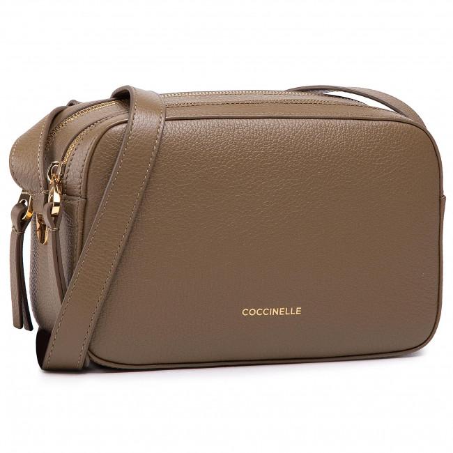 Handbag COCCINELLE - H60 lea E1 H60 15 02 01 Moss Green G63