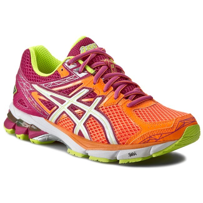 Shoes ASICS - Gt - 1000 3 T4K8N Soft Orange/White/Pink
