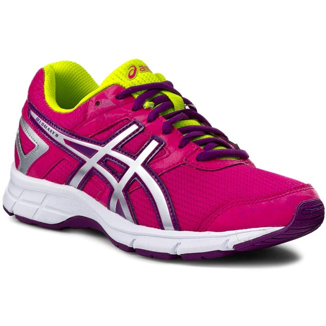 d533a02c7ab18 Shoes ASICS - Gel - Galaxy 8 Gs C520N Hot Pink/Silver/Purple - Laced shoes  - Low shoes - Girl - Kids' shoes - efootwear.eu