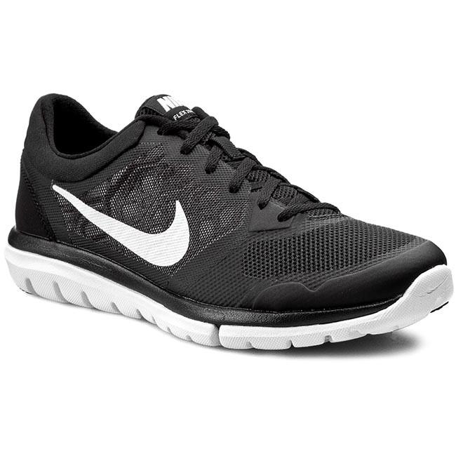 consultor Muerto en el mundo trapo  Shoes NIKE - Flex 2015 Rn 709022 006 Black/White - Natural - Running shoes  - Sports shoes - Men's shoes | efootwear.eu