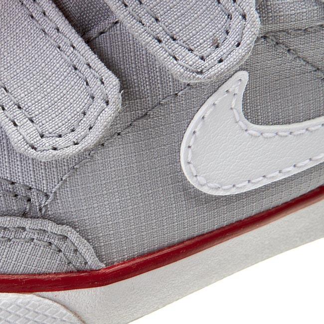Shoes NIKE Capri 3 Txt (Tdv) 580542 005 Wolf GreyWhiteGym Red