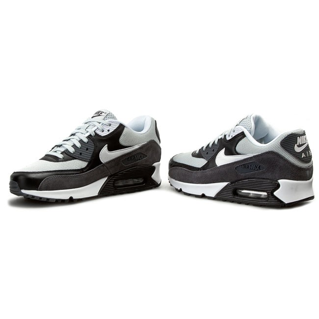 Shoes NIKE Air Max 90 Essential 537384 037 Grey MistWhiteBlackDark Grey