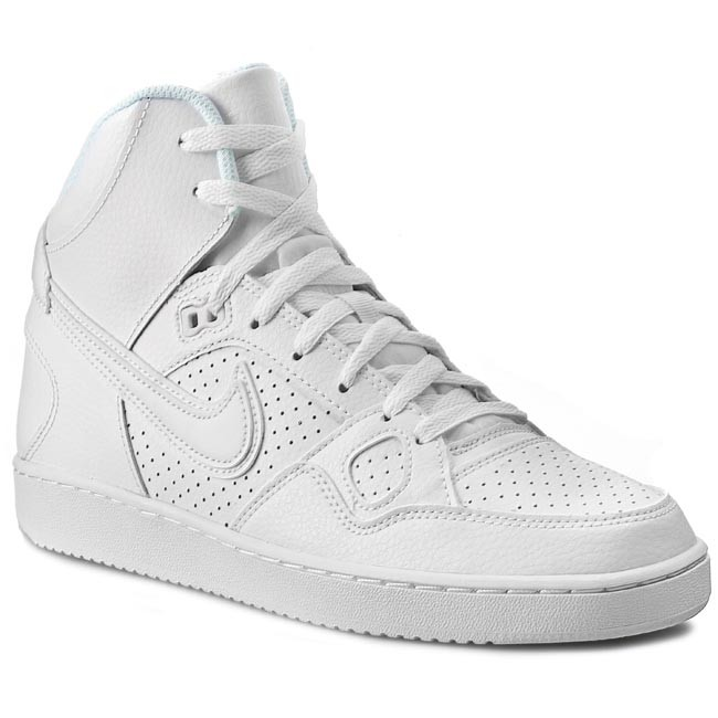 Parcialmente Robusto resistencia  Shoes NIKE - Son Of Force Mid 616281 102 White/Black - Sneakers - Low shoes  - Men's shoes | efootwear.eu