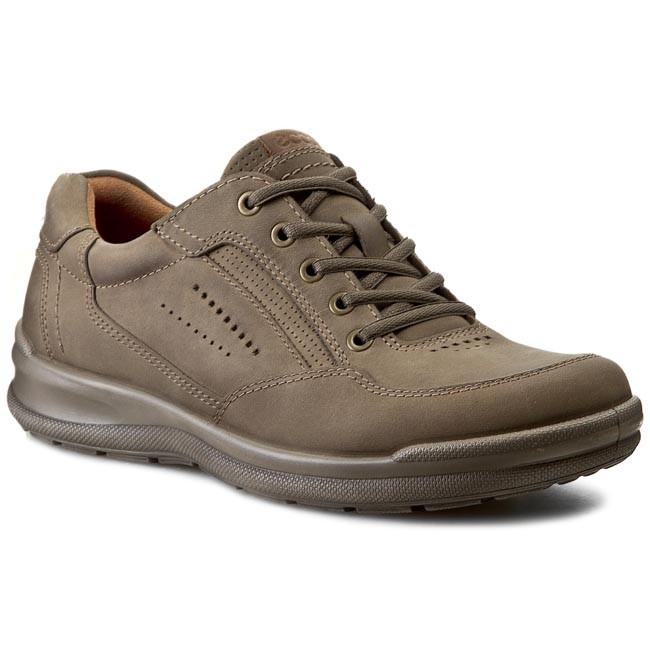 Ecco Men Collin Casual Lace Up Sneaker Warm Gray
