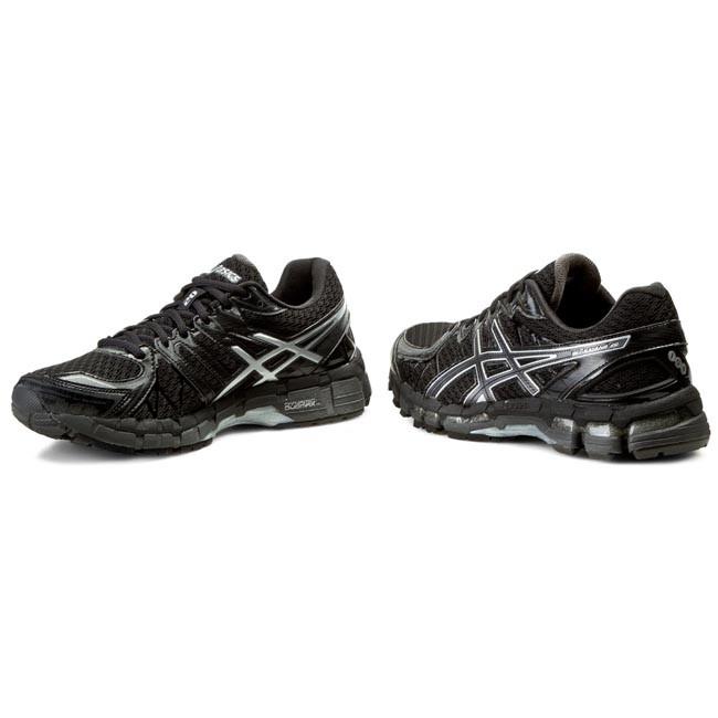 ASICS Gel Kayano 20 Women's Running Shoes BlackOnyxBlack 3