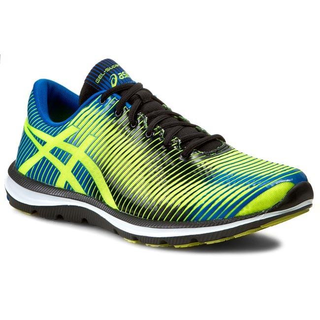 Shoes ASICS - Gel-Super J33 T3S0N Flash Yellow/Blue/Black