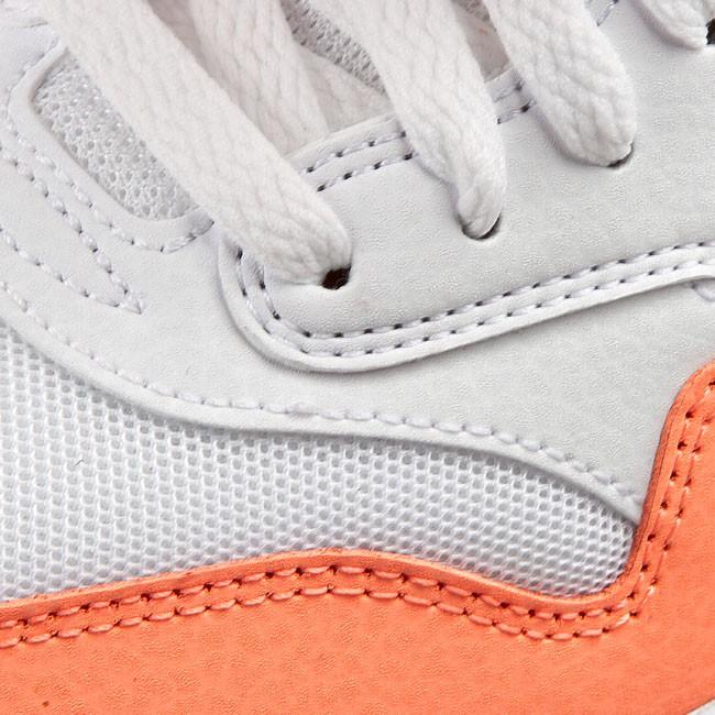 Nike Women's Air Max 1 Essential WhiteSunset GlowHot Lava Running Shoe