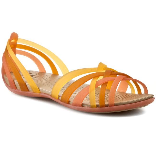Sandals CROCS Huarache Flat Women 14121 CoralGrapefruit