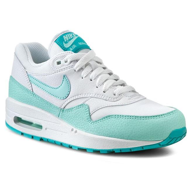 Shoes NIKE Air Max 1 Essential 599820 113 WhiteArtisan TealLt Retro