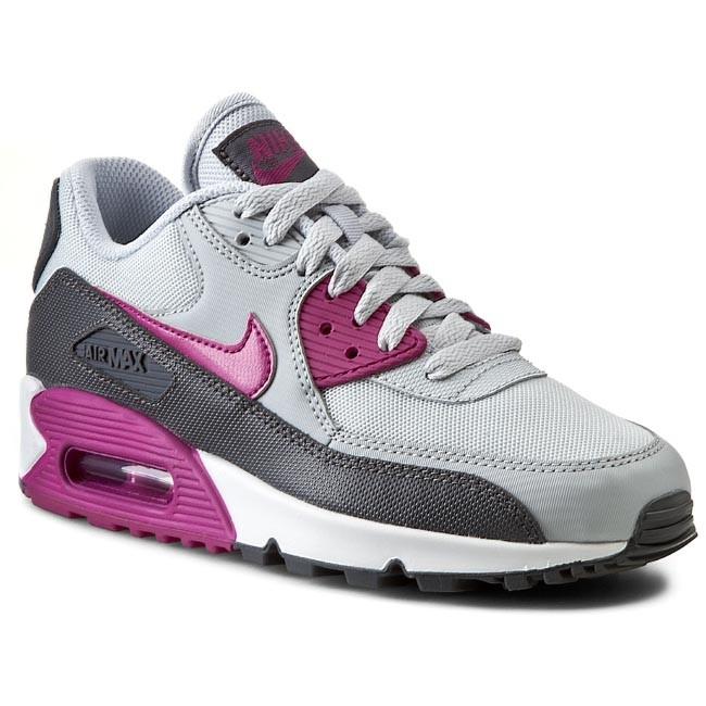 Shoes NIKE WMNS Air Max 90 Essential 616730 013 Pr Pltnm FuchsiaFlshDark GreyWhite