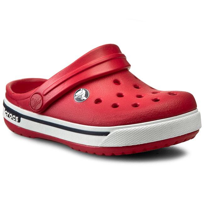 Najlepiej gorąca sprzedaż online sprzedawane na całym świecie Slides CROCS - Crocband II.5 Clog Kids 12837 Red/Navy