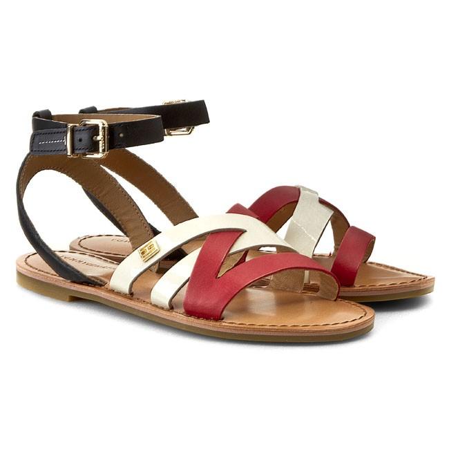 sandals tommy hilfiger julia 34a fw56818695 rwb 910. Black Bedroom Furniture Sets. Home Design Ideas