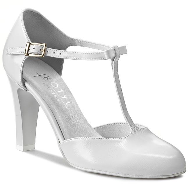 Shoes KOTYL - 5871 Biały Lico