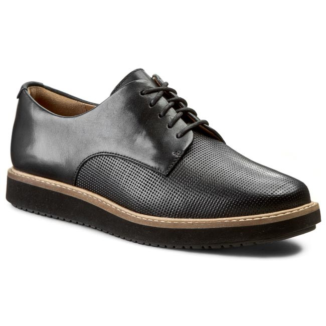 galería Género Confinar  Shoes CLARKS - Glick Darby 261119674 Black Leather - Flats - Low shoes -  Women's shoes | efootwear.eu