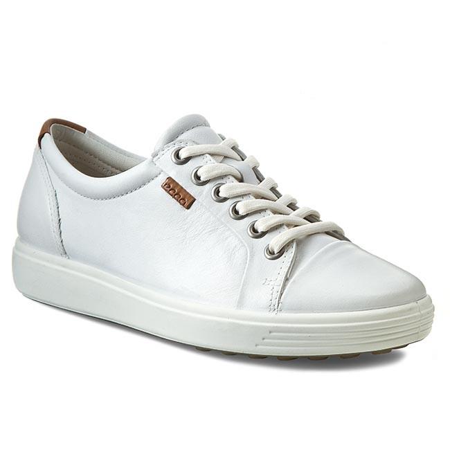Geox Ladies White Shoes
