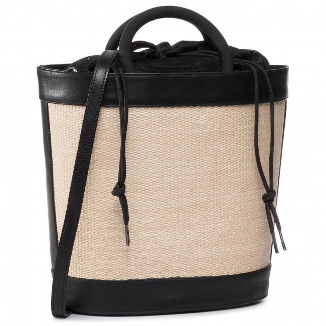 Handbag UNISA - Znadia Nt Rgr Black/Natu