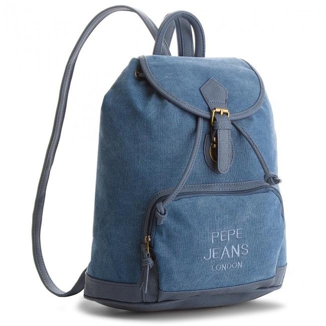 Backpack Pepe Jeans Lana Backpack Pl120012 Blue 551 Backpacks Handbags Efootwear Eu
