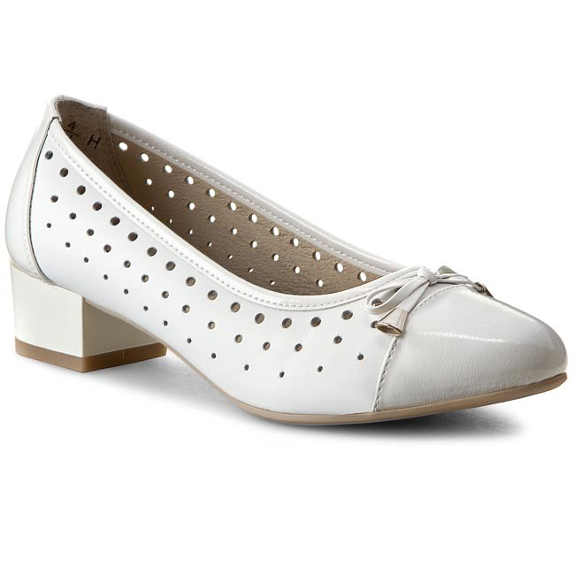 Shoes CAPRICE - 9-22410-24 White Nap/Pate 125