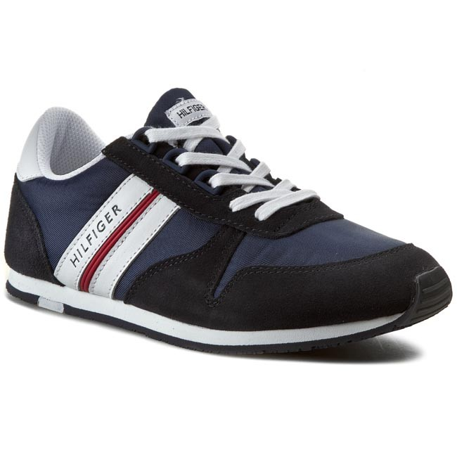 Shoes TOMMY HILFIGER - Jagger 6C FB56819020 Midnight/White/Tango Red 611