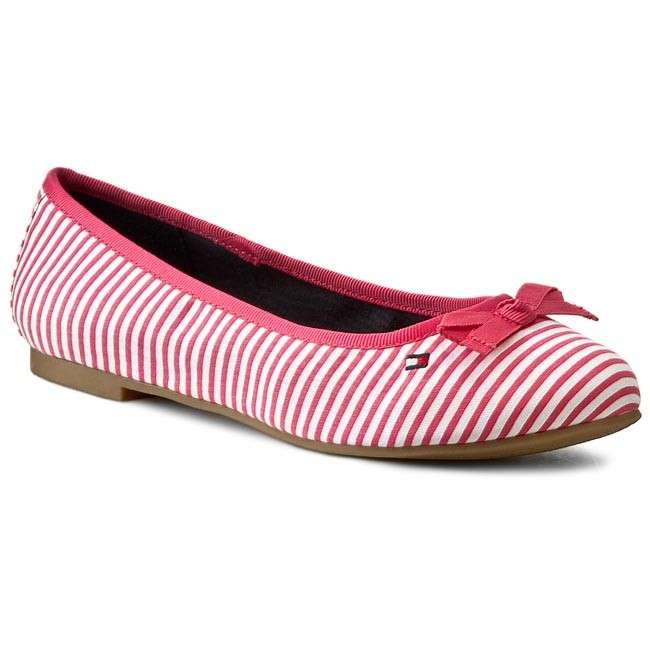 Flats TOMMY HILFIGER - Amy 41E2 FW56819294  Claret Red Stars And Stripes 714