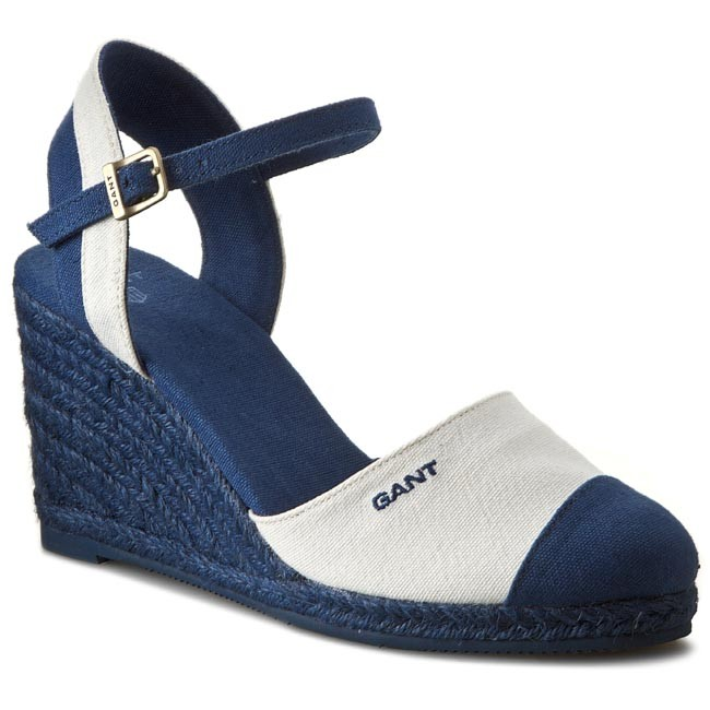 Espadrilles GANT - Madison 10568533  Cream/Indigo Blue G92