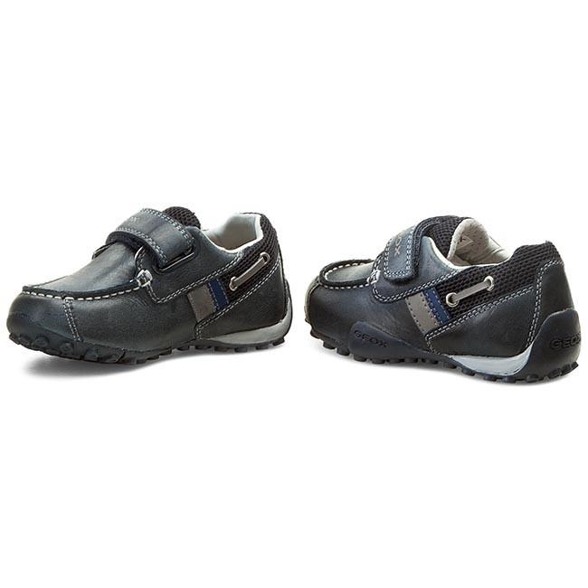 Shoes GEOX J Snake Moc A J5216A 0CL14 C0832 Morski J.Szary