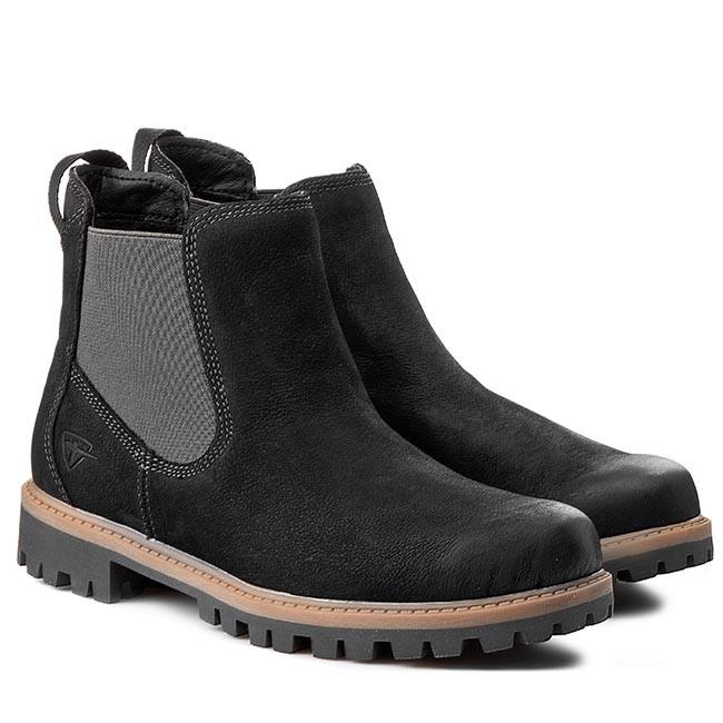 ankle boots tamaris 1 25401 25 black 001 boots high. Black Bedroom Furniture Sets. Home Design Ideas