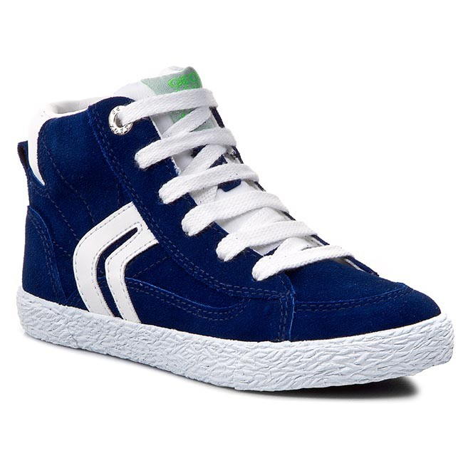 various colors outlet size 7 Sneakers GEOX - J Kiwi B. B J42A7B 00022 C0288 Blue/White - Laced ...