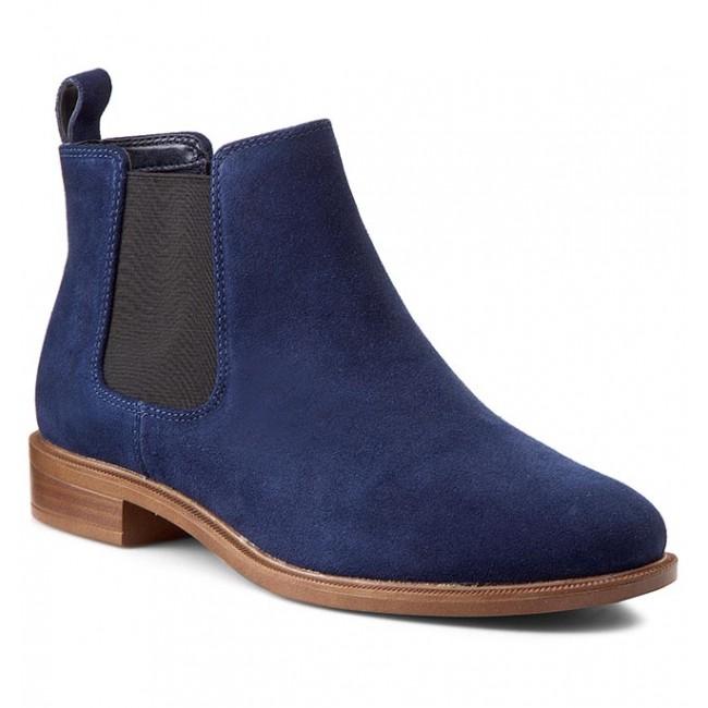 261128604 Clarks Boots Navy Suede Ankle Shine Taylor rCxWBdeQo