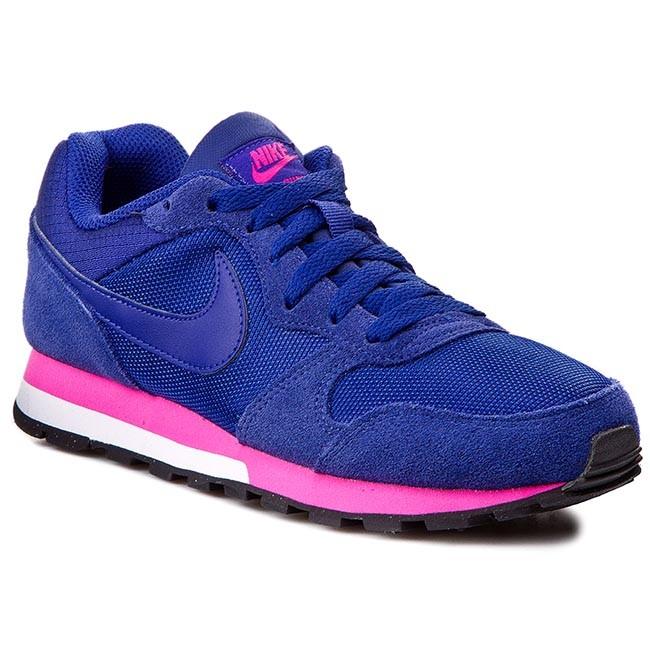 Shoes NIKE - Md Runner 2 749869 446 Dp Ryl Bl/Dp Ryl Bl/Pnk Fl/Whi