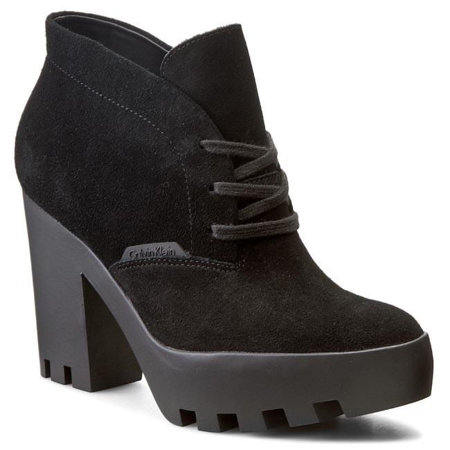 Stevie Re9366 Suede Klein Calvin Boots Black Jeans OXiTPukZ