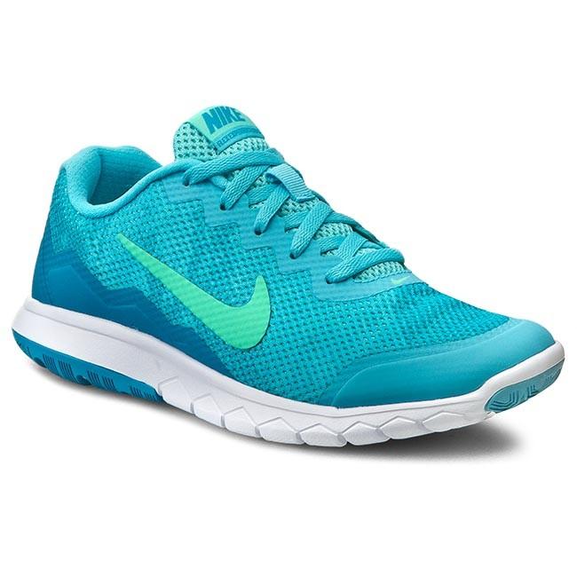 Shoes NIKE - Flex Experience Rn 4 Prem 749177 400 Td Pl Bl/Grn Glw
