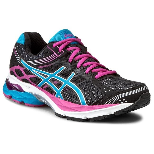 Shoes ASICS Gel Pulse 7 T5F6N BlackTurquoisePink Glow 9040