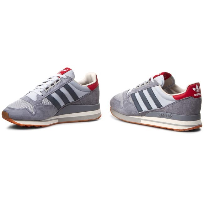 Shoes adidas Zx 500 Og W S77321 GreyOnixColred