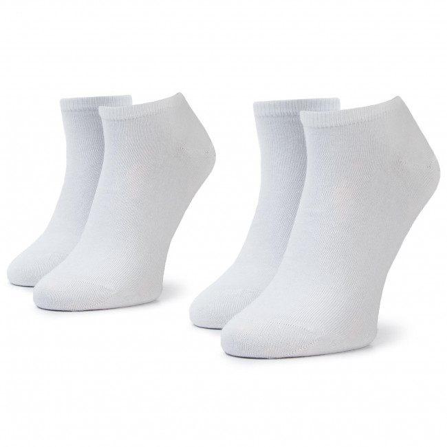 2 Pairs of Men's Low Socks TOMMY HILFIGER 342023001 r.4346 White 300
