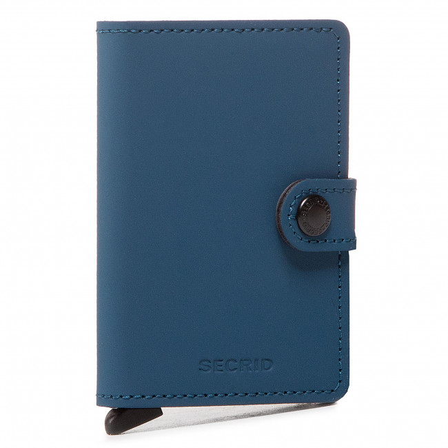 Small Men's Wallet SECRID - Miniwallet MM Blue