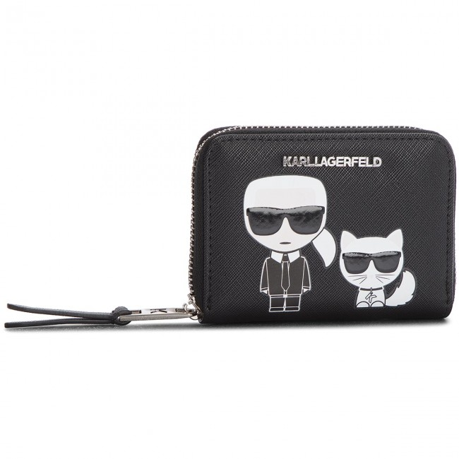 Small Women's Wallet KARL LAGERFELD - 81KW3208 Black