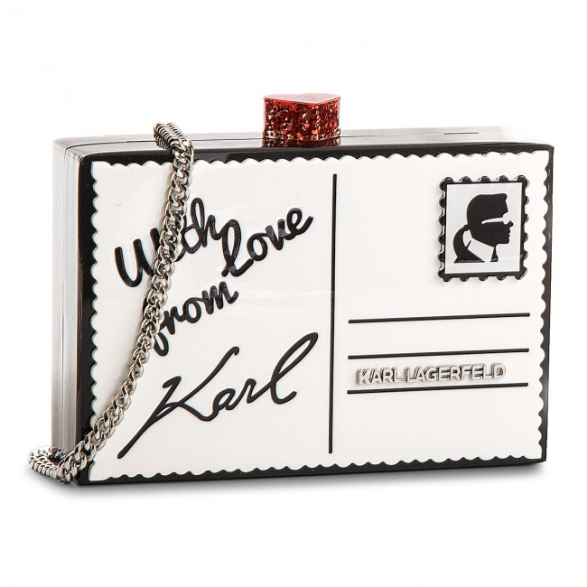 Handbag KARL LAGERFELD - 81KW3093 Black